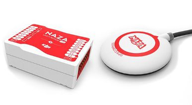 Pack DJI F450 avec Naza Lite + GPS + Train Fixe