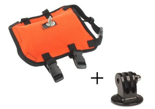 "Pack fixation ""DCC\"" petite taille pour GoPro"