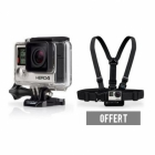 Pack GoPro Hero 4 Black + Harnais (offert)
