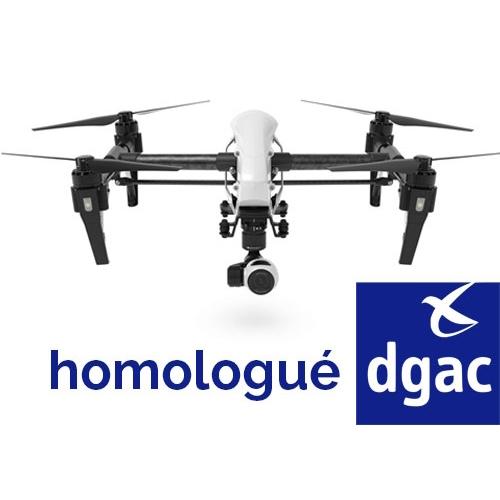 Pack parachute homologué S1, S2 et S3 pour DJI Inspire 1
