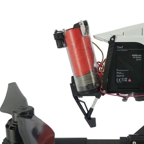 Pack parachute Mars 58 V2 homologué S1, S2 et S3 pour DJI Inspire 1