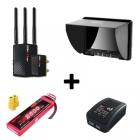 Pack retour vidéo HD Connex Mini Blackpearl Lite batterie 3s 2600 mAh Kypom Chargeur Lipo 2S 3S e3 SKYRC