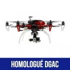 Pack Starter DJI F550 homologué S1, S2 et S3