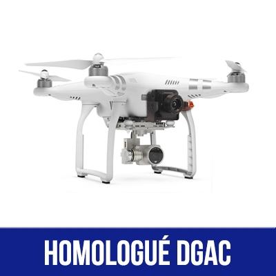 Pack thermique Phantom 3 homologué S1,S2 & S3