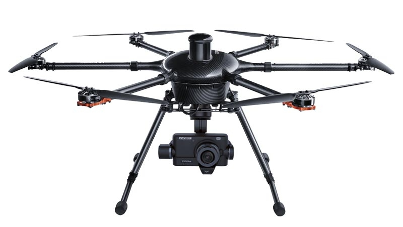 Hexacoptère H920 Tornado et caméra CGO4 4K
