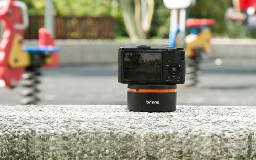Système Pan Lapse Brinno ART200 accueillant un appareil photo