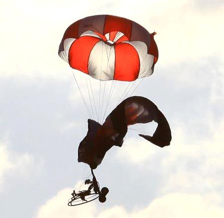 Parachute de secours 2.5m² Opale pour Multirotors
