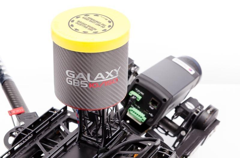 Parachute à ouverture rapide Galaxy GRS GBS 10/150 pour drone de 5 à 15 Kg