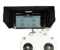 Pare-soleil de smartphone pour Phantom FC40, Vision et Vision+