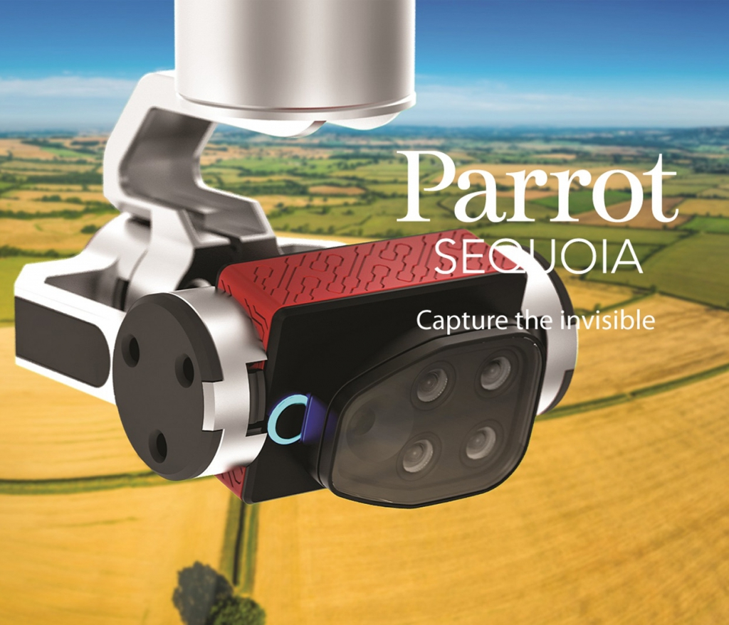 Mise en application du capteur Parrot Sequoia