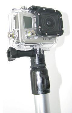 Perche 2,3 mètres verrouillable pour GoPro