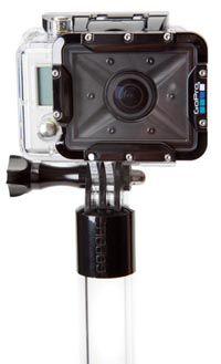Perche GoPole 90 cm transparente pour GoPro