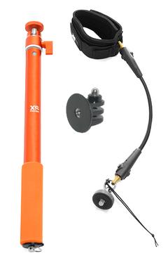 Perche Xsories Big U-Shot + Wrist Cord Cam pour GoPro