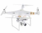Drone DJI Phantom 3 4K vu de profil