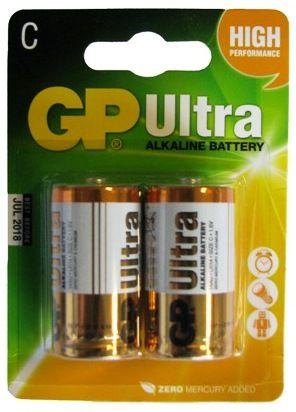 Piles alcalines GP ULTRA LR14