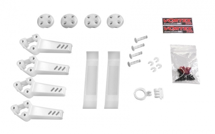 Pimp kit pour Vortex Pro 250 ImmersionRC Blanc