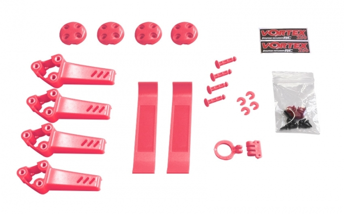 Pimp kit pour Vortex Pro 250 ImmersionRC Rose
