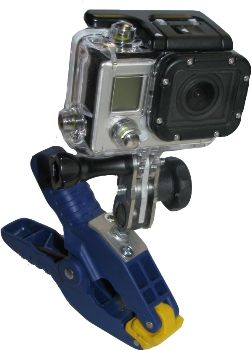 Fixation pince pour cam�ra GoPro - photo 1