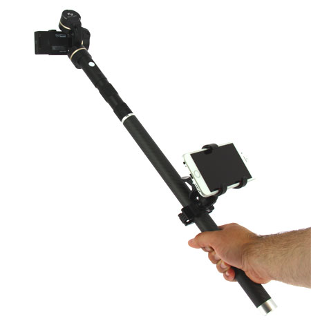 Pince smartphone pour Steadycam