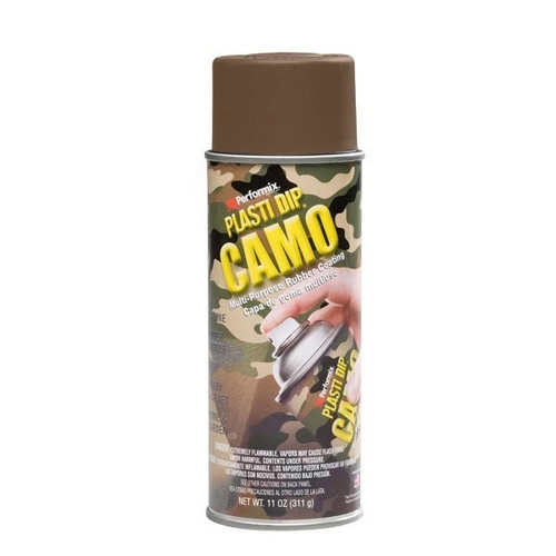 Aérosol Plasti Dip 400 ml - version camo marron