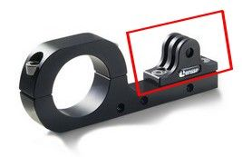 Platine de fixation aluminium pour GoPro