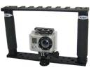 Platine multi-fixations double poign�e pour GoPro