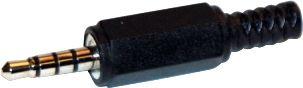 Prise jack 3,5mm 4 poles