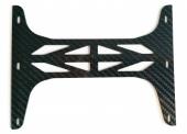 Protection carbone pour caméra drone DJI Phantom 4 vue dessus