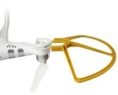 Montage de la protection d\'hélice avec le système clipse