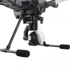 Cette protection immobilise la nacelle pour éviter tous dégâts sur la caméra lors du transport