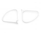 2 protections d'hélices clipsables DJI Phantom 4 - vue de face
