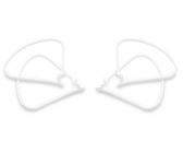 4 protections d'hélices clipsables DJI Phantom 4 - vue de biais