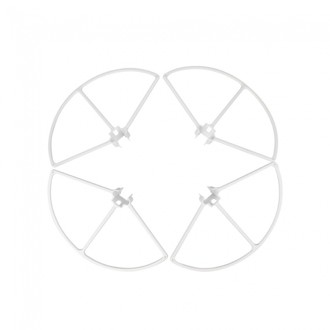 Protections d'hélices clipsables pour DJI Inspire 1 - blanches