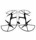 Protections d'hélices noires clipsées sur un drone DJI Inspire 1