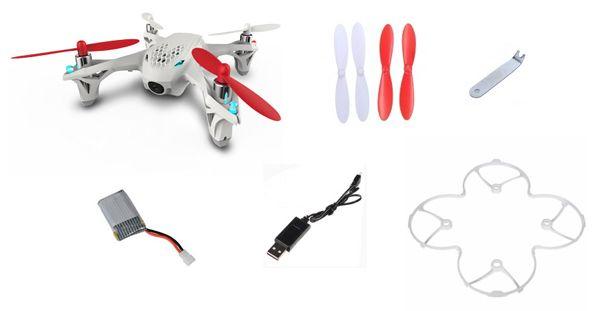 Quadricoptère Hubsan X4 FPV (drone seul)