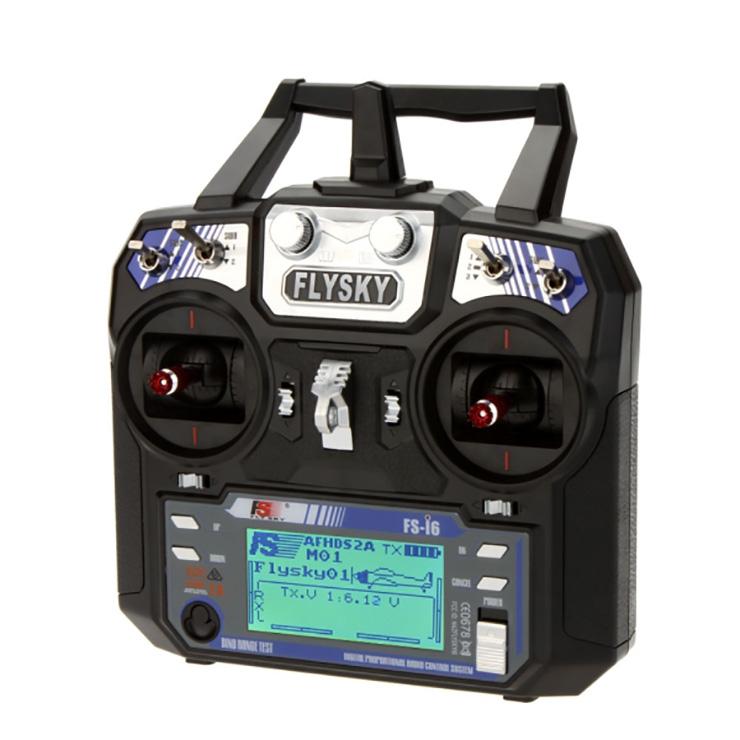 Radio FlySky i6 vue de trois quart