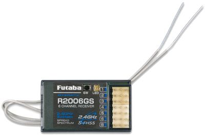 Radio Futaba T6J 2.4GHz + récepteur R2006GS