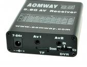 Récepteur Aomway 5.8G 32CH avec DVR intégré - vue connectique