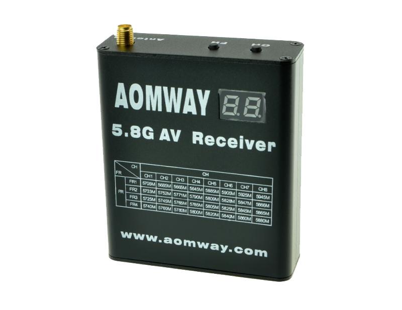 Récepteur Aomway 5.8G 40CH avec DVR intégré