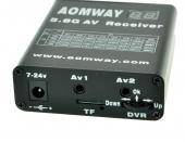 Récepteur Aomway 5.8G 40CH avec DVR intégré - vue connectique