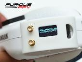 Récepteur diversifié Furious True-D installé dans les lunettes avec son capot
