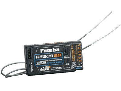 Récepteur Futaba 8 voies R6208SB 2.4Ghz