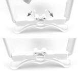 Schéma de montage des renforcements pour train d\'atterrissage drone DJI Phantom 3
