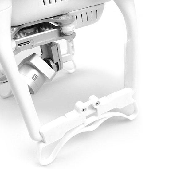 Renforcement train d\'atterrissage monté sur le drone DJI Phantom 3