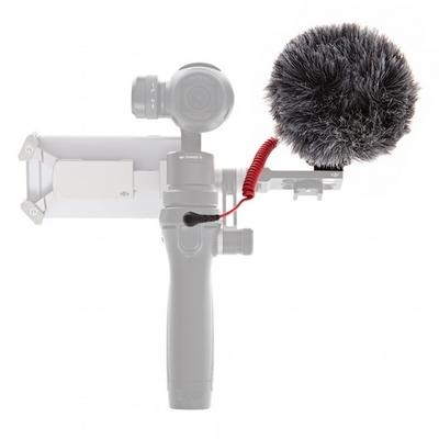 Microphone VideoMicro Rode monté sur un DJI Osmo