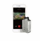 Caméra RunCam 2 HD 1080p avec smartphone utilisant l\'application RunCam