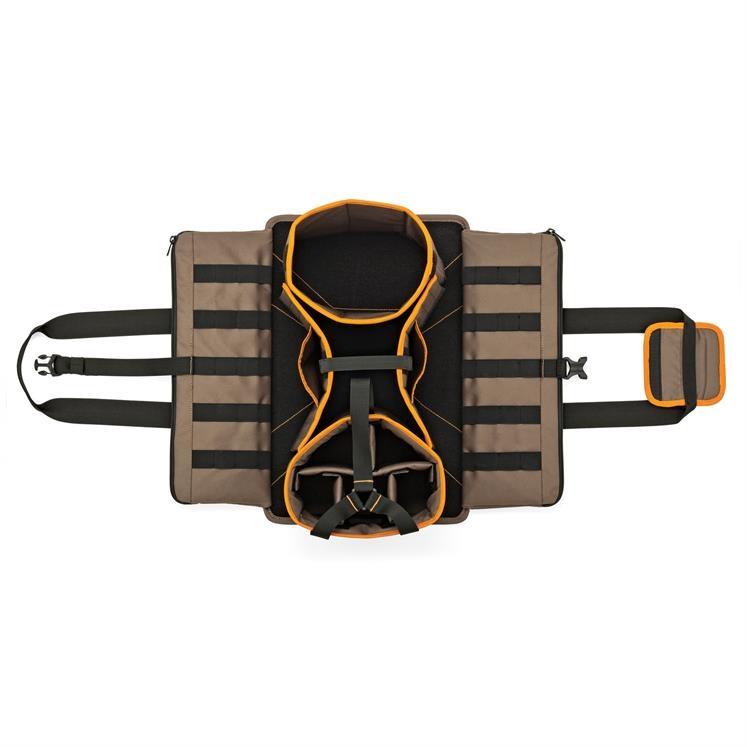 Vous trouverez une multitude de rangements pour vos outils et votre drone. Tous les éléments sont amovibles pour mieux répondre à vos besoins.
