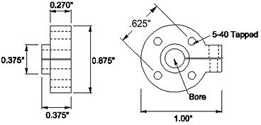 Serre-tube 6mm