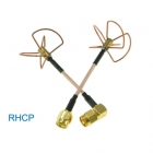 Set d'antennes Clover Leaf RHCP 5,8 GHz RP-SMA