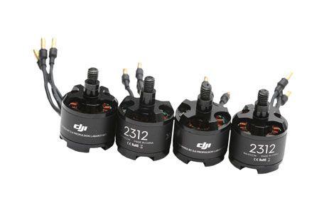 Set de propulsion DJI E310 4 moteurs + ESC + hélices